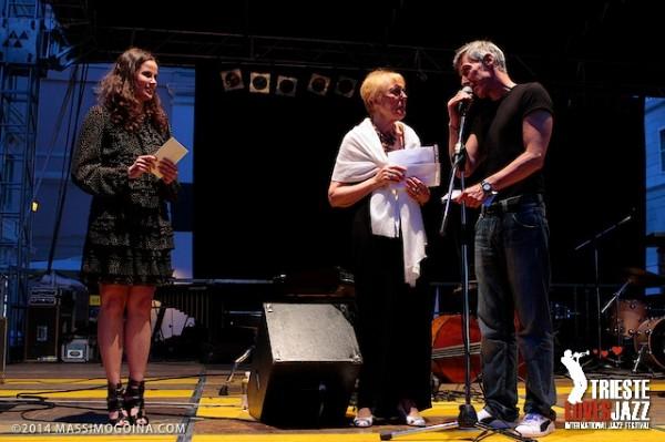 "TriesteLovesJazz 2014. Premio Franco Russo, Alba Nacinovich ""Correspondances"". ph MASSIMOGOINA.COM"