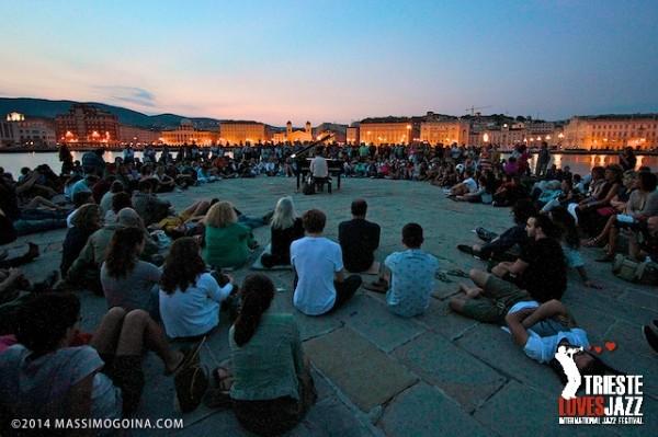 TriesteLovesJazz 2014. Concerto all'alba al molo Audace.