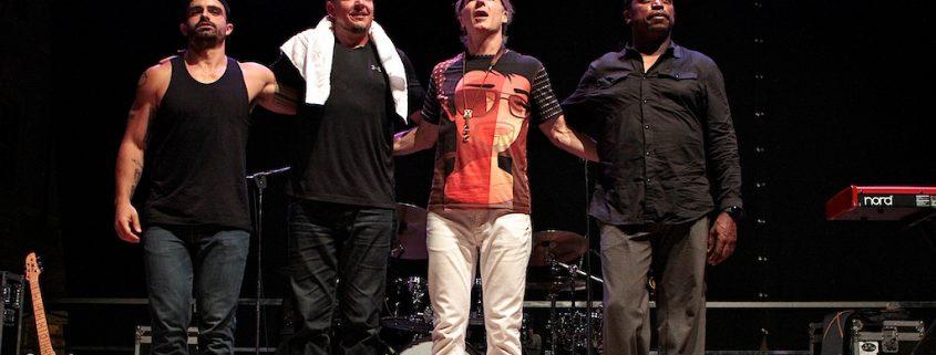 TriesteLovesJazz 2016 07 25. BILL EVANS BAND - Bill Evans, Bryan Baker, Keith Carlock, Darryl Jones. PH MassimoGoina.com